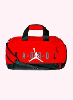 Air Jordan Jumping Man New Red Basketball/Gym/Sports Duffel