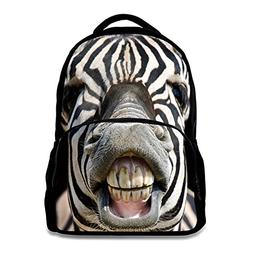 Animal School Bag Children's Age6-16 Polyester 17 Inch Lapto