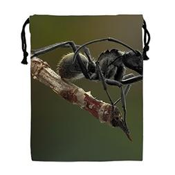Ant Macro Photography 3D Print Drawstring Bag Sport Gym Bag