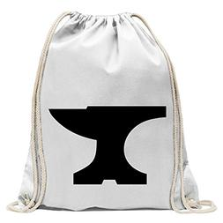 anvil Fun sport Gymbag shopping cotton drawstring