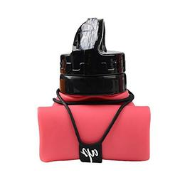 AP Sport AP 20oz Collapsible Folding Silicone Water Bottle L