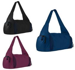 ATHLETIC, GYM BAG w/ SHOE COMPARTMENT, ZIPPERED TOP & POCKET