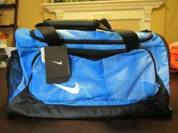NWT Nike Gym Duffel Bag Ocean Blue Black $45
