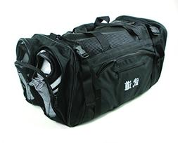 Martial Arts bag with Mesh Top/ Poket, Boxing MMA Deluxe Equ