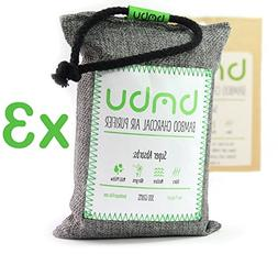 bmbu 300g Bamboo Charcoal Car Deodorizer/Car Freshener Bag -