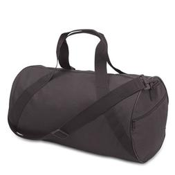 Liberty Bags Barrel Duffel Bag, One Size, Black