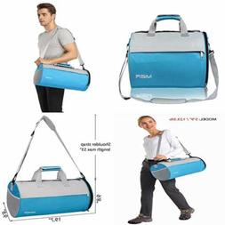 MIER Barrel Travel Sports Bag For Women & Men SMALL Gym W Sh