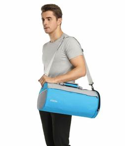 MIER Barrel Travel Sports Bag for Women and Men Small Gym Ba