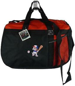 Baseball Dog Gemline Sequel Sport Team Duffel Little League