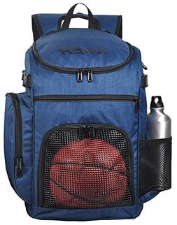MIER Basketball Backpack Large Sports Bag for Men Women with