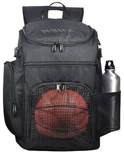 MIER Basketball Backpack Large Burgandy Sports Bag for Men W