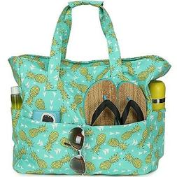 Beach Tote Pool Bags for Women Ladies Extra Large Gym Tote C