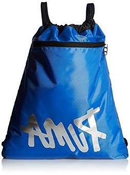 PUMA Big Kids' Carrysack, Blue/Black, OS