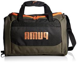 PUMA Big Kids Duffel Bag, Dark Green, OS