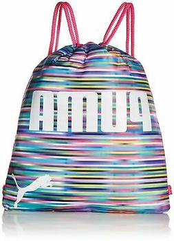 PUMA Big Girls' Evercat Advantage Reversible Carrysack, Peac