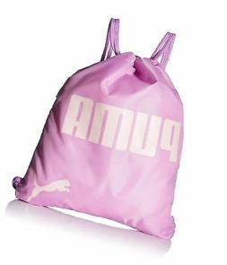 PUMA Big Kids' Carrysack, Pink/Green, OS