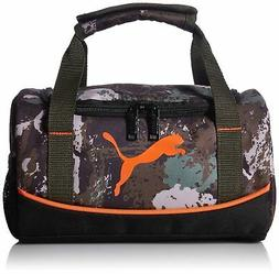 PUMA Big Kids Lunchbox Duffel, Bag Sport Night Bag Dark Gree