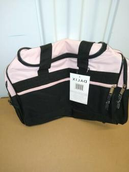Blank Duffle Bag Duffel Bag in Black and Royal Gym Bag