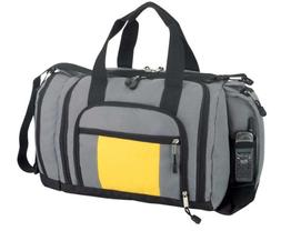 Blank Duffle Bag Duffel Bag with Ultimate Pockets in Gray an