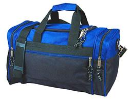 "20"" Blank Duffle Bag Duffel Travel Camping Outdoor Sports Gy"