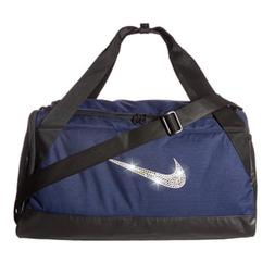 Bling Nike Brasilia Duffel Gym Bag with Swarovski Crystal Be