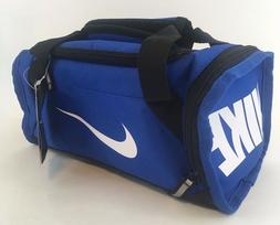 blue gym bag lunch box insulated new