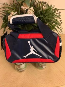 Boys Nike Air Jordan Lunch Box Tote with Carry Handles Navy/