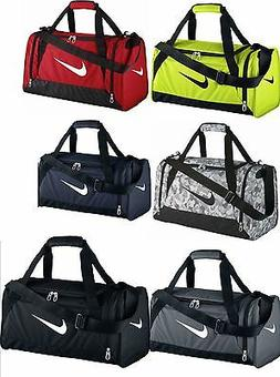Nike Brasilia 6 Small Duffel Gym Bag Grip BA4831/4910 Black