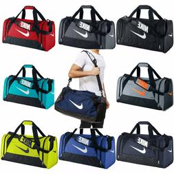 Nike Brasilia 6 XS Small Medium Large Duffel Gym Bag Navy Bl