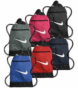 Nike Brasilia Gym Sack 9.0 Drawstring Backpack Bag BA5953 -