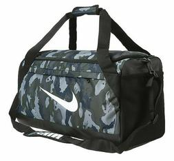 Nike BRASILIA Medium Bags CAMO Running Sports Duffel Bag GYM