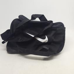 NIKE Brasilia X-Small Training Duffel Bag, Black/Black/White