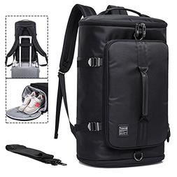 Travel Business Laptop Backpack 3-Way Duffel Luggage Gym Spo