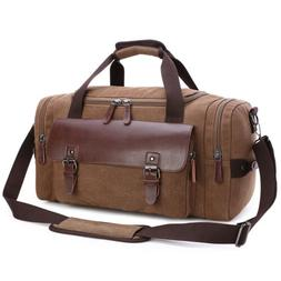 canvas travel men s weekend gym duffle