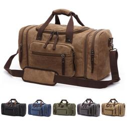 85c7dd05ec Canvas Travel Tote Luggage Large Men s W..