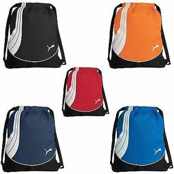 PUMA Cat NEW Teamsport Drawstring Backpack Cinch GYM Sack Sc