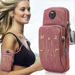 Cell Phone Armband,Sports Armband for iPhone 6/6s , 6/6s Plu