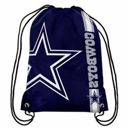 Dallas Cowboys Drawstring Bag NFL Football Licensed Gym Tote