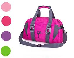2017snow Small/Large Dance Duffle Bag For Girls Sport Gym Ba