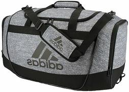 adidas Defender II Medium Duffel Bag, Medium, Jersey Onix/Bl