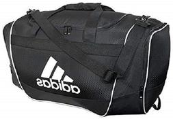 Adidas Defender II Womens Duffle Gym Workout Bag Black White