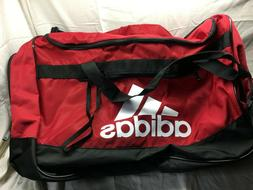 Adidas Defender III Large Duffel Bag Power Red/Black/White