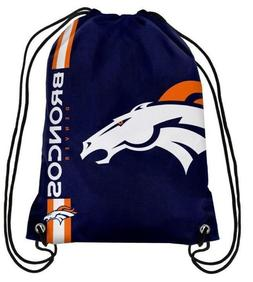 Denver Broncos NFL Drawstring Backpack sack / Gym bag