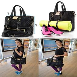 Designer Gym Tote Bag For Women By MB Krauss Workout Purse W
