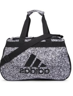 Editorial Pick ADIDAS Diablo Small Duffel Unisex Grey  Turquoise White Gym 7dd9a82e18455