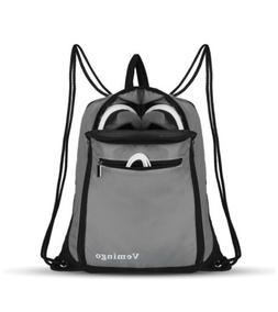 Drawstring Backpack Bags, Men & Women Drawstring Gym Sack Ci
