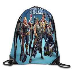 Drawstring Backpack Sack Pack Bag Rucksack Kids Adults Shoul
