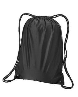 Liberty Bags Drawstring Bag Small Backpack 8881 NEW Black Mo