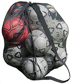 Mesh Ball Bag With Shoulder Strap. 30 x 40 Inches with a Dra
