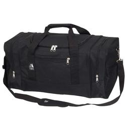 Everest Sports Duffel - Large, Black, One Size